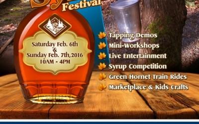 Annual B.C. Bigleaf Maple Syrup Festival – Feb 6th and 7th 2016